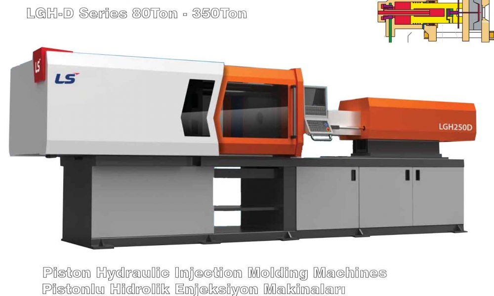 Piston Hydraulic Injection Molding Machines – Elver Plastic